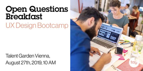 Open Questions Breakfast: UX Design Bootcamp tickets