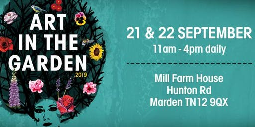 Art in the Garden - An Exclusive Artist and Author Fair with Live Music