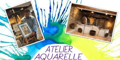 atelier aquarelle billets