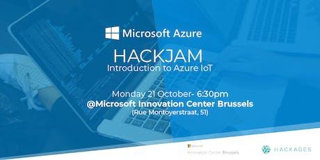 Azure IoT HackJam tickets
