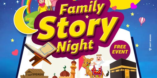 Family Story Night With Shaykh Imran Muhammad (Fri 16th August | 6PM)