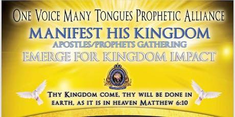 MHK Apostles/Prophets Gathering tickets