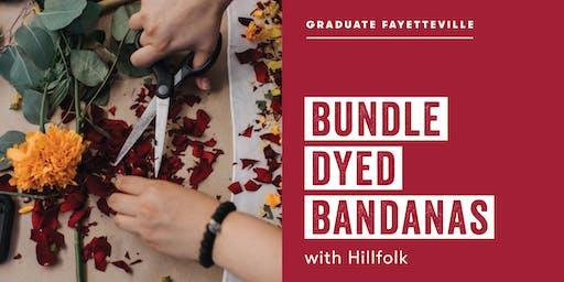 Bundle Dyed Bandanas with Hillfolk