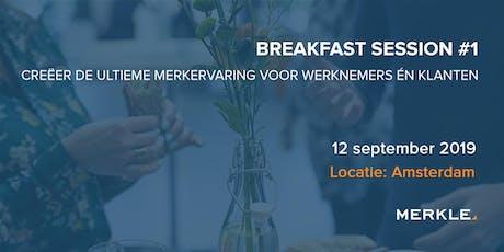 Breakfast Session:  de ultieme merkervaring voor werknemers én klanten tickets
