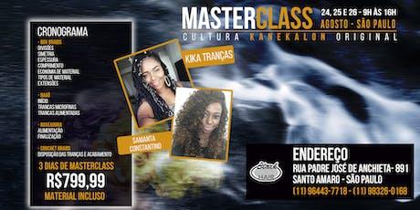 Master Class Cultura Kanekalon Original tickets