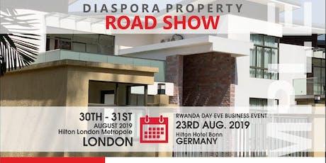 Diaspora Property Road Show on RWANDA DAY EVE 2019 Tickets