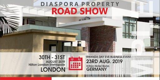 Diaspora Property Road Show on RWANDA DAY EVE 2019