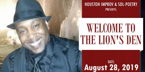 """""""Welcome to the Lion's Den"""" - Poetry Event (Yolan)"""