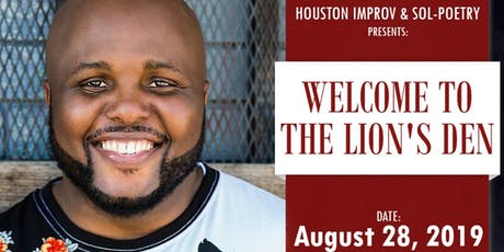 """Welcome to the Lion's Den"" - Poetry Event (Ernest L. Beason II) tickets"