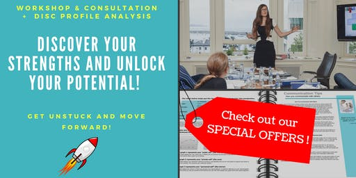 DISCover your strengths and unlock your potential! - 1 Day Workshop - 2nd Edition