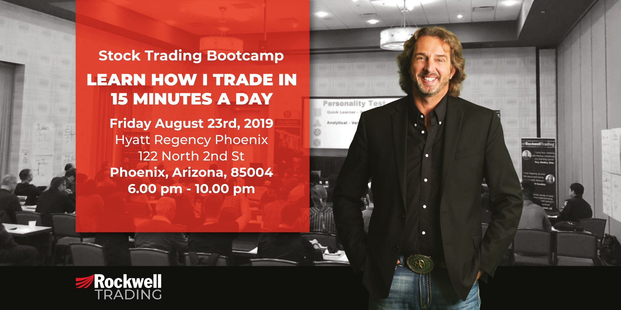 Rockwell Stock Trading Bootcamp - PHOENIX, August 23rd