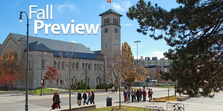 Queen's University Fall Preview 2019 tickets