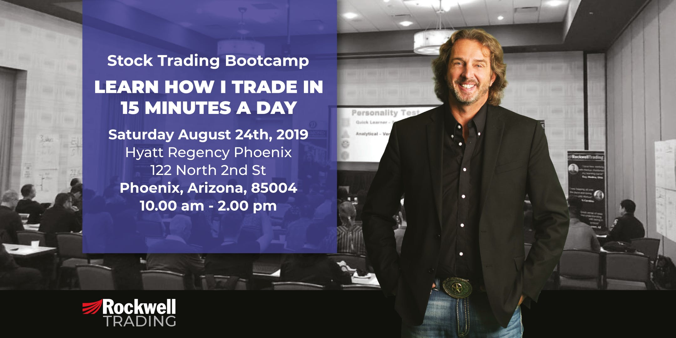 Rockwell Stock Trading Bootcamp - PHOENIX, August 24th