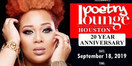 WEGO LIVE: Poetry Lounge Houston 20 Year Anniversary (Miss Pinky) tickets