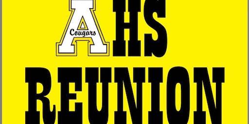 Apex High School REUNITES!  10th Annual Multi-Class Reunion 2019 (1975-1985)