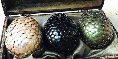 DIY Targaryen Dragon Eggs 2 tickets