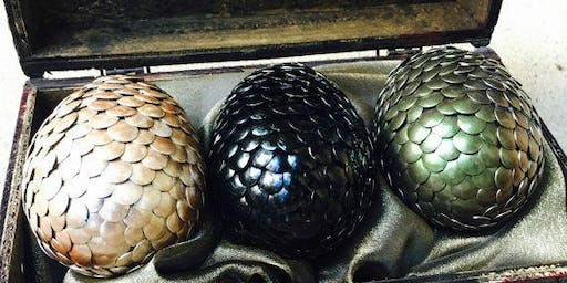 DIY Targaryen Dragon Eggs 2