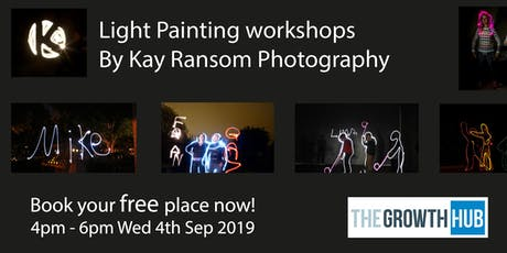 Light Painting - with Kay Ransom Photography tickets