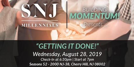 """Building Momentum: """"Getting It Done!"""" tickets"""