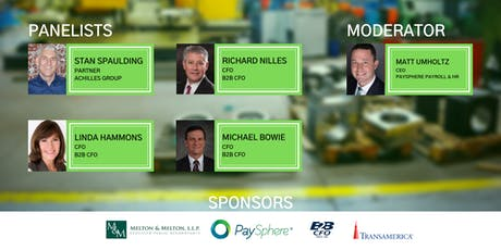 Houston Manufacturing Panel: Industry Insights You Can Use Tomorrow tickets