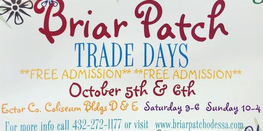 Briar Patch Trade Days  - October 2019