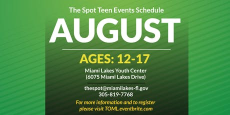 Youth Center Open Hang Night tickets