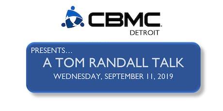 A Tom Randall Talk tickets