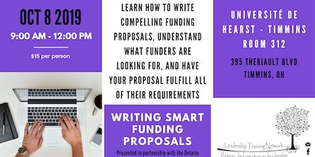 LTN Presents: Writing SMART Funding Proposals tickets