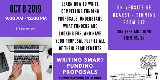 LTN Presents: Writing SMART Funding Proposals