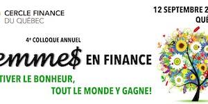 COLLOQUE FEMMES EN FINANCE - 4e ÉDITION (JOURNÉE...