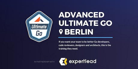 3-Day Advanced Ultimate Go Training: (Berlin - October 2019) tickets