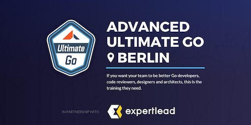 3-Day Advanced Ultimate Go Training: (Berlin - October 2019)