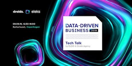 DATA-DRIVEN BUSINESS 2019 tickets