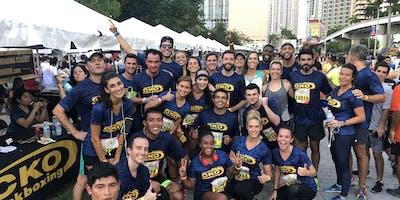 Miami Marathon - CKO Kickboxing & Jar of Hope