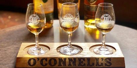 O'Connell's Bar Premium Irish Whiskey Tasting tickets