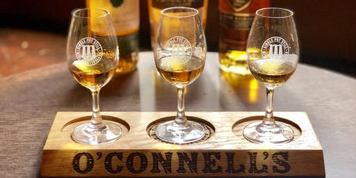 O'Connell's Bar Premium Irish Whiskey Tasting