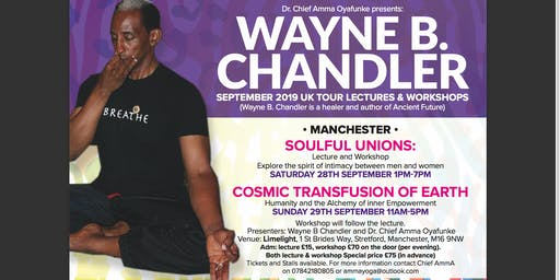Wayne B. Chandler Lecture and Workshop Tour Manchester