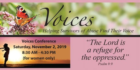 Voices: Helping Survivors of Abuse Find Their Voice tickets