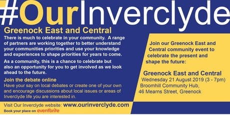 Greenock East & Central Locality Event tickets