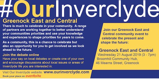 Greenock East & Central Locality Event
