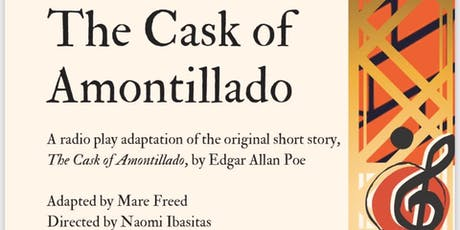 """The Cask of Amontillado"" at VOX POP tickets"