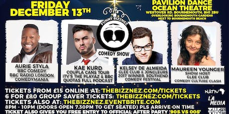 Funny Bizznez Comedy Bournemouth Xmas Supershow & After Party tickets