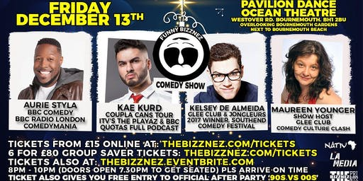 Funny Bizznez Comedy Bournemouth Xmas Supershow & After Party