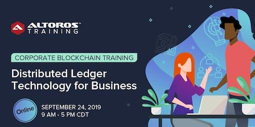 Online Blockchain Training: Distributed Ledger Technology for Business [CDT]