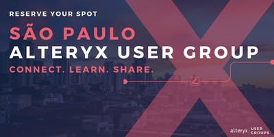 São Paulo Alteryx User Group Q3 Meeting