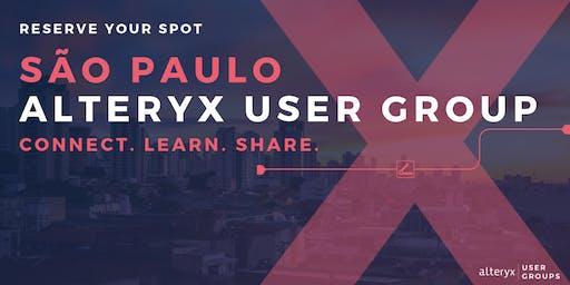São Paulo Alteryx User Group Q3 Meeting