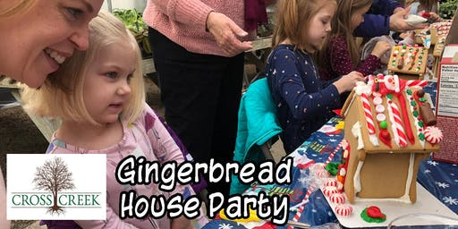 Gingerbread House Party  #1
