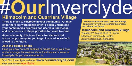 Kilmacolm & Quarriers Village Locality Event