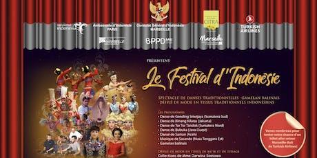 Le Festival d'Indonésie billets