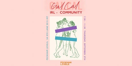 GalCal IRL - Community tickets